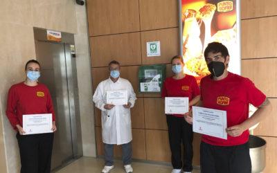 Somos la primera fábrica de gofres de España cardioprotegida