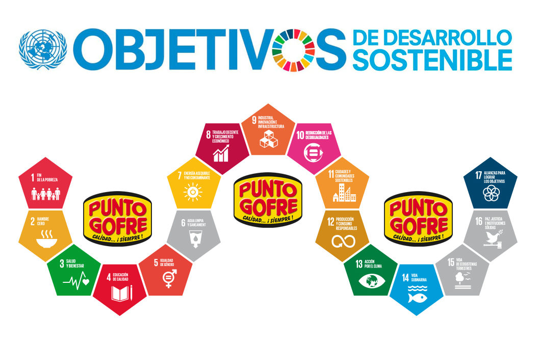 Punto Gofre | Objetivos de Desarrollo Sostenible